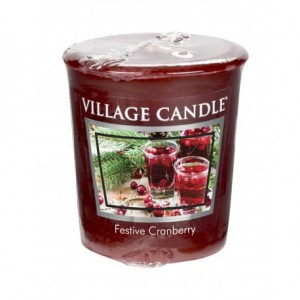 Village Candle FESTIVE CRANBERRY votive świeca