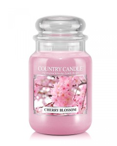 Country candle CHERRY BLOSSOM duża świeca