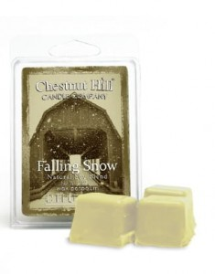 Wosk zapachowy CHESTNUT HILL CANDLE  Falling snow