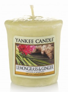 Yankee Candle LEMONGRASS & GINGER świeca sampler
