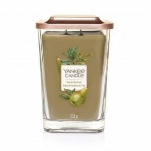 Yankee Candle ELEVATION Pear Tea Leaf świeca duża
