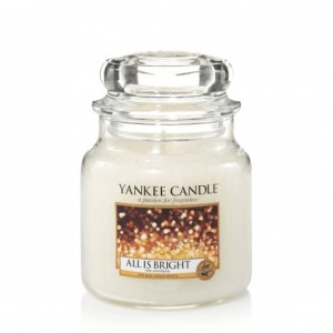 Yankee Candle ALL IS BRIGHT świeca średnia