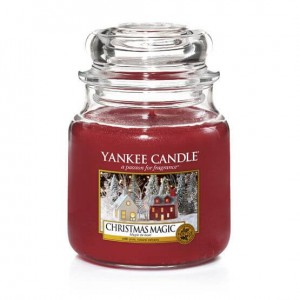 Yankee Candle CHRISTMAS MAGIC świeca średnia