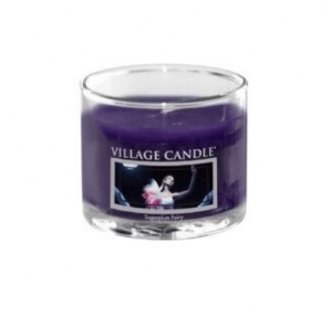 Village Candle SUGARPLUM FAIRY mini glass