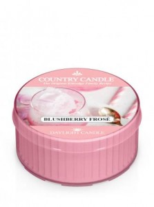 Country Candle  BLUSHBERRY FROSE daylight
