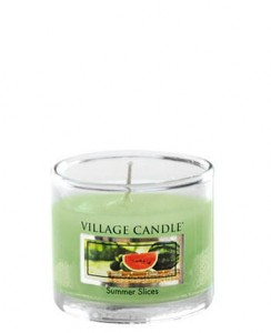 Village Candle SUMMER SLICES mini glass