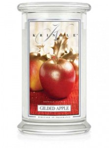 Kringle Candle  GILDED APPLE  duża świeca