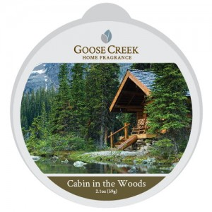 Goose Creek Candle CABIN IN THE WOODS wosk zapachowy