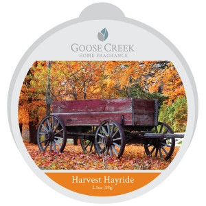 Goose Creek Candle HARVEST HAYRIDE wosk zapachowy