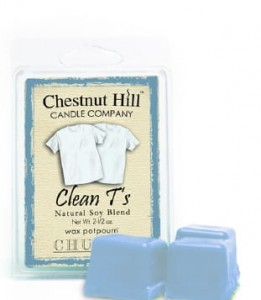 Wosk zapachowy Kostka CHESTNUT HILL CANDLE  Clean T's