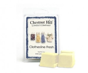 Wosk zapachowy Chestnut Hill Candle Clothesline Fresh