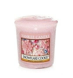 Yankee Candle Snowflake Cookie świeca sampler votive
