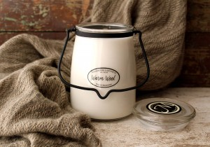 Milkhouse Candle Warm Wool świeca Butter Jar