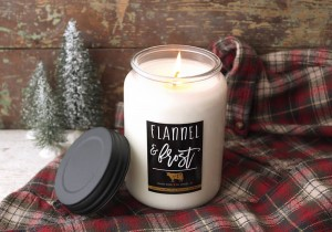 Milkhouse Candle Flannel Frost Świeca Duża