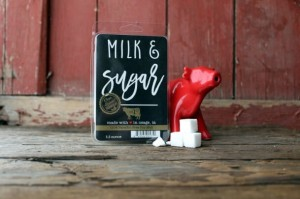 Milkhouse Candle Milk & Sugar Wosk Duży