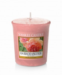 Yankee Candle SUN DRENCHED APRICOT ROSE świeca sampler