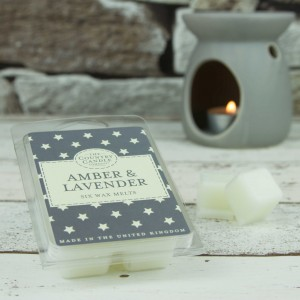 The Country Candle Amber & Lavender wosk zapachowy Superstars