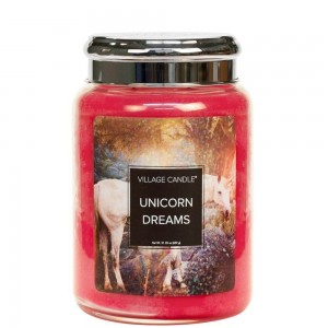 Village Candle Unicorn Dreams świeca zapachowa FUN FANTASY