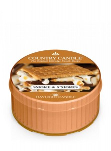 Country Candle SMOKE & S'MORES świeca daylight