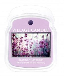 Village Candle Rosemary Lavender wosk zapachowy