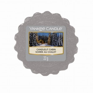 Yankee Candle Candlelit Cabin wosk zapachowy