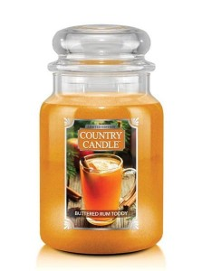 Country Candle Buttered Rum Toddy Duża Świeca 652g