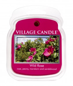 Village Candle Wild Rose wosk zapachowy