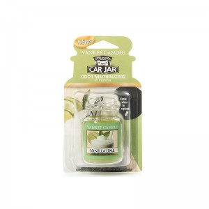 Yankee Candle Vanilla Lime Car Jar Ultimate zapach do samochodu