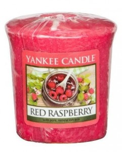 Yankee Candle RED RASPBERRY  świeca sampler