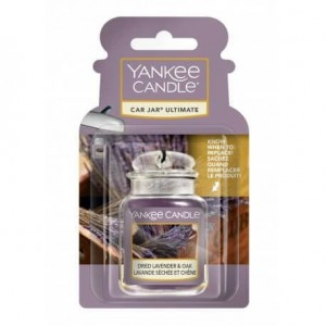 Yankee Candle Dried Lavender & Oak Car Jar Ultimate zapach do samochodu