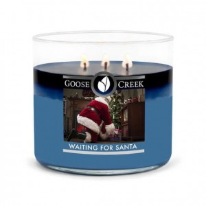 Goose Creek Candle Waiting for Santa świeca tumbler trzyknotowy