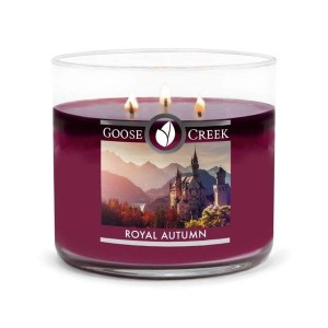 Goose Creek Candle Royal Autumn Świeca Tumbler Trzyknotowa