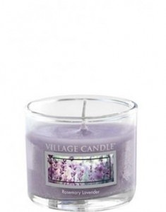 Village Candle Rosemary Lavender świeca Mini Glass