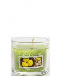 Village Candle Lemon Pistachio świeca Mini Glass