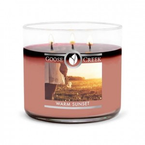 Goose Creek Candle Warm Sunset Świeca Tumbler trzyknotowy