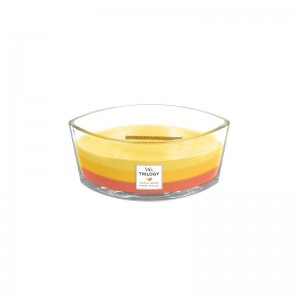 Woodwick Tropical Sunrise świeca Hearthwick Trilogy Elipsa