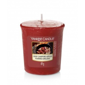 Yankee Candle Crisp Campire Apples świeca sampler votive