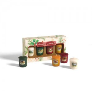 Yankee Candle Zestaw 4 Świec Votive Magical Christmas Morning