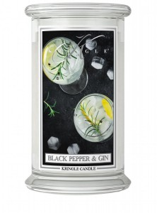 Kringle Candle Black Pepper Gin świeca zapachowa