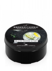 Kringle Candle Black Pepper Gin świeca zapachowa daylight
