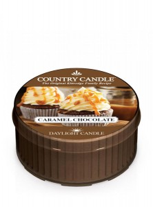 Country Candle Caramel Chocolate świeca zapachowa Daylight