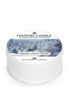 Country Candle Fresh Aspen Snow świeca zapachowa Daylight