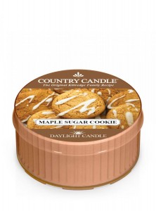 Country Candle Maple Sugar Cookie świeca zapachowa Daylight