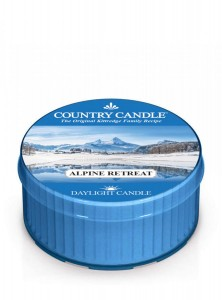 Country Candle Alpine Retreat świeca zapachowa Daylight