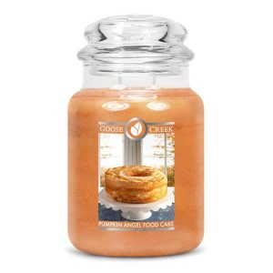 Goose Creek Candle Pumpkin Angel Food Cake Świeca zapachowa