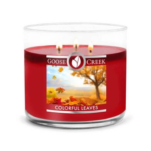 Goose Creek Candle Colorful Leaves Świeca Tumbler Trzyknotowy
