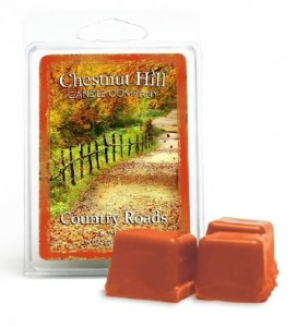 Chestnut Hill Candle Country Roads wosk zapachowy Kostka