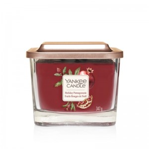 Yankee Candle Elevation Holiday Pomegranate Świeca Trzyknotowa