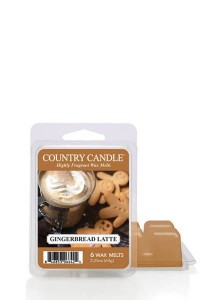 Country Candle Gingerbread Latte Wosk Zapachowy