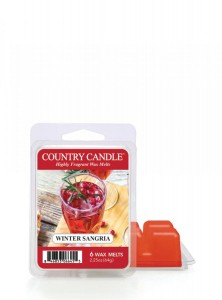 Country Candle Winter Sangria Wosk Zapachowy
